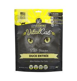 Vital Essentials Vital Essentials Cat Raw Duck Patties 28oz