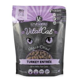 Vital Essentials Vital Essentials Cat Freeze Dried Turkey Nibs 12oz