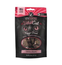 Vital Essentials Vital Essentials Cat FD Chicken Heart .8oz