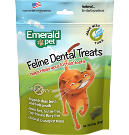 Emerald Pet Emerald Pet Feline Dental Treat Tuna 3oz
