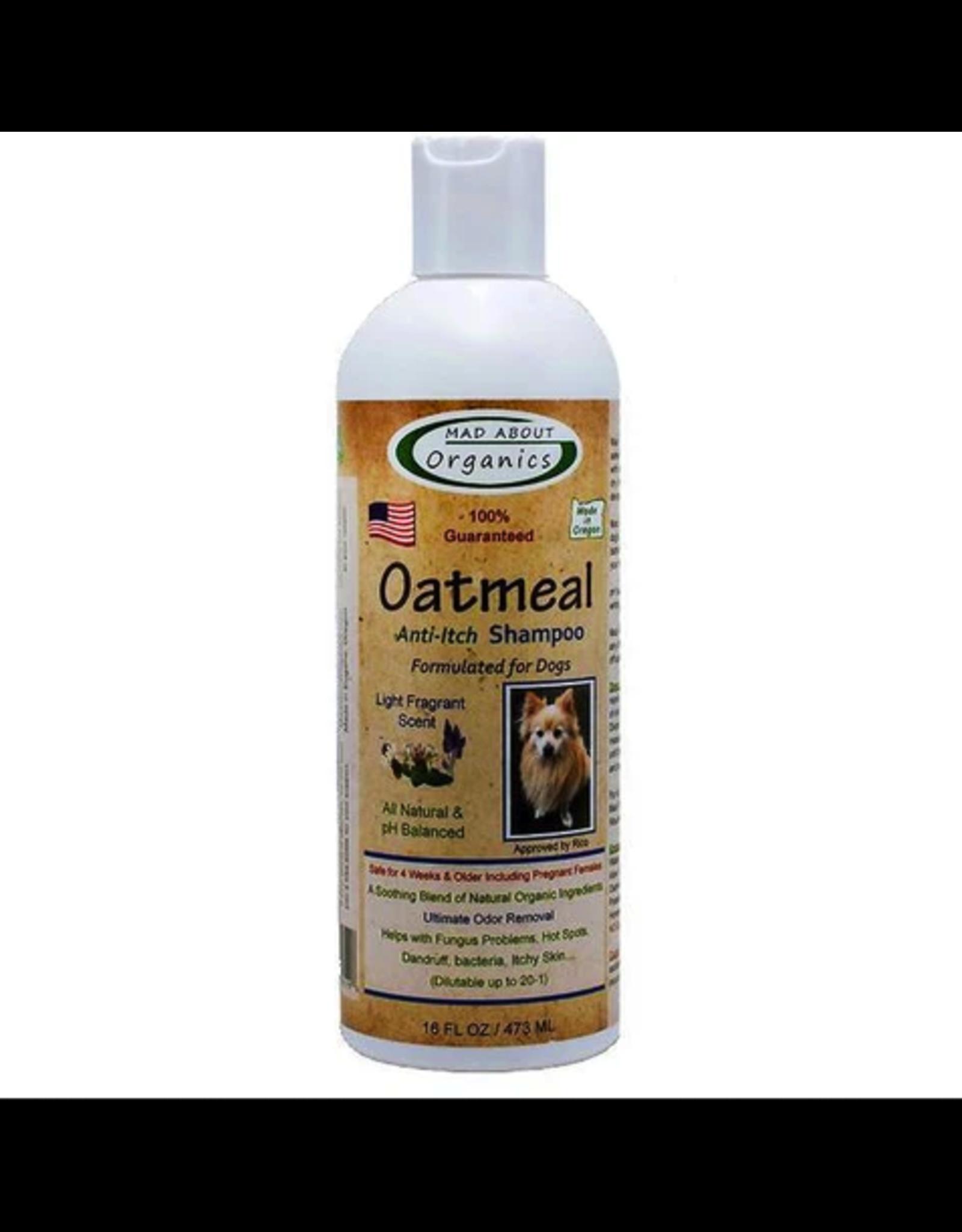 Mad About Organics Mad About Organics Dog Oatmeal Shampoo 16oz