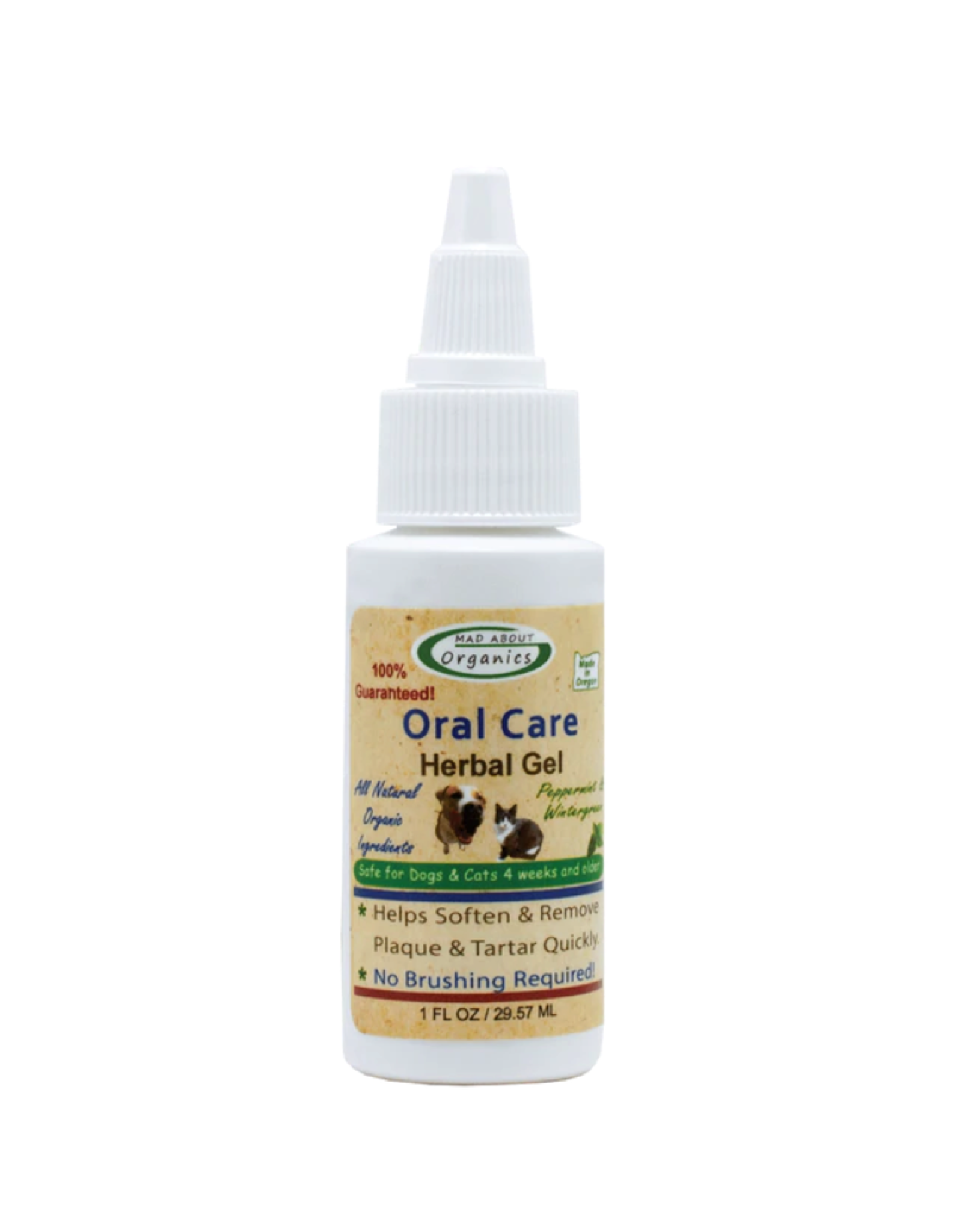 Mad About Organics Mad About Organics Herbal Oral Gel 1oz
