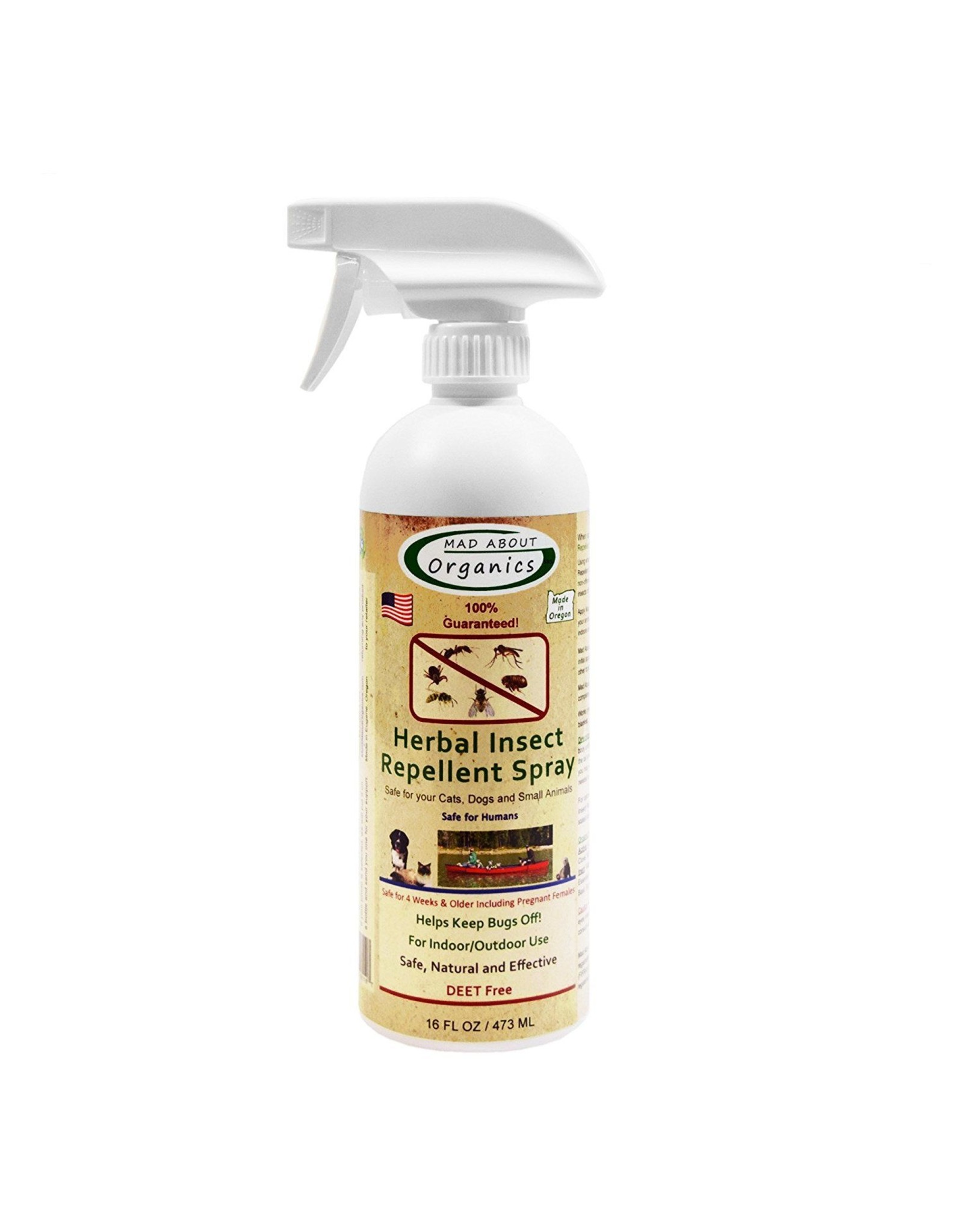 Mad About Organics Mad About Organics Insect Repellent Spray 16oz