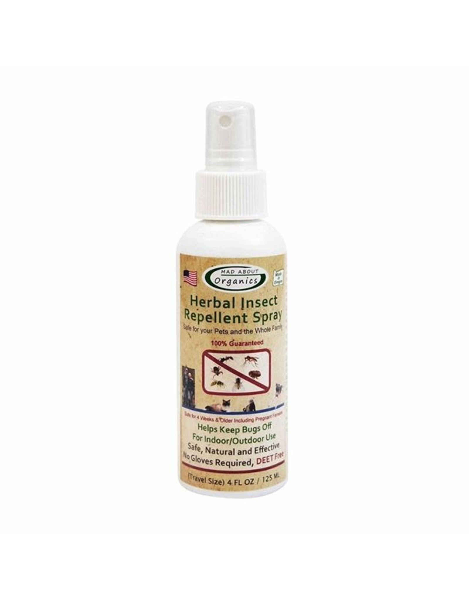 Mad About Organics Mad About Organics Insect Repellent Spray 4oz