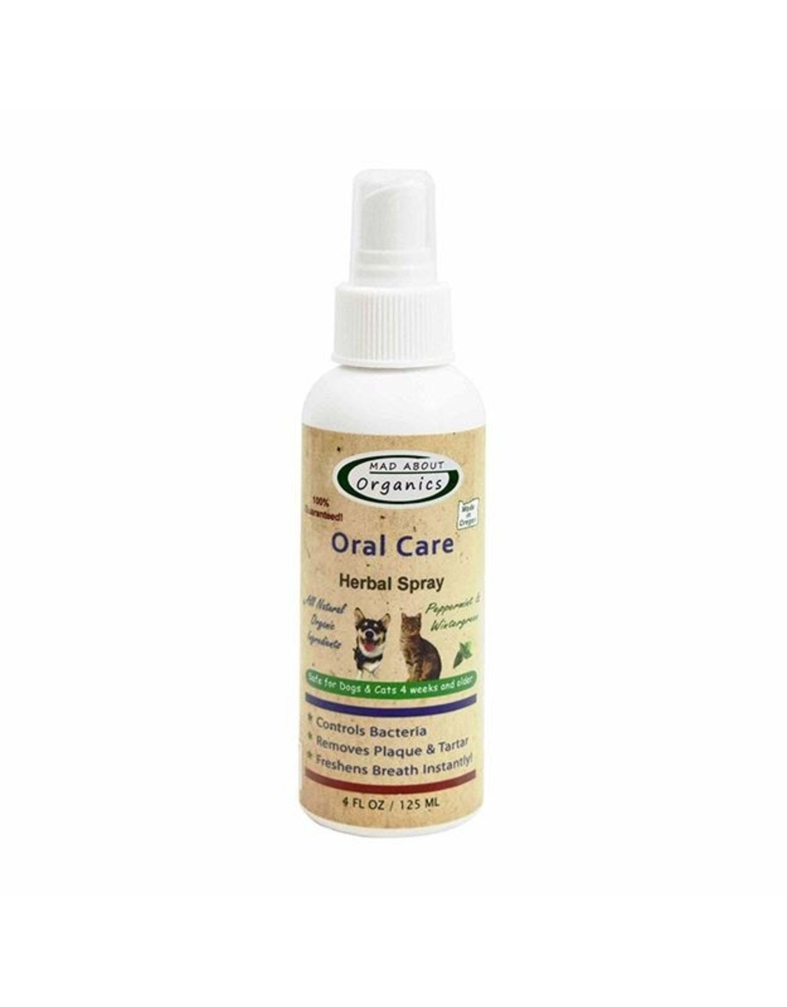 Mad About Organics Mad About Organics Oral Spray 4oz