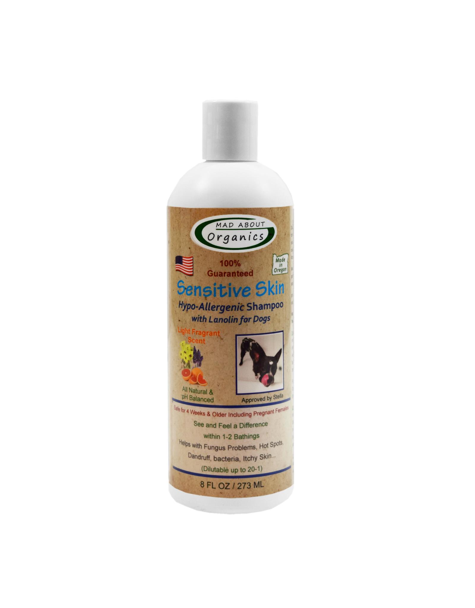 Mad About Organics Mad About Organics Sensitive Skin Shampoo 8oz
