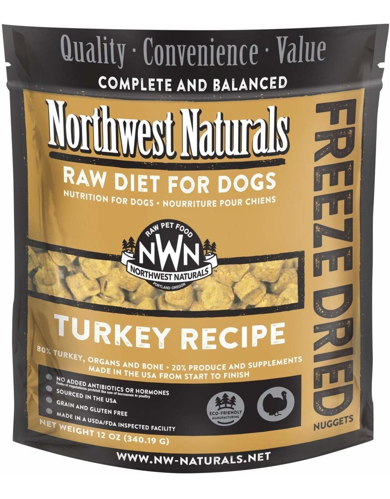 Northwest Naturals Northwest Naturals Dog Freeze Dried Turkey 12oz
