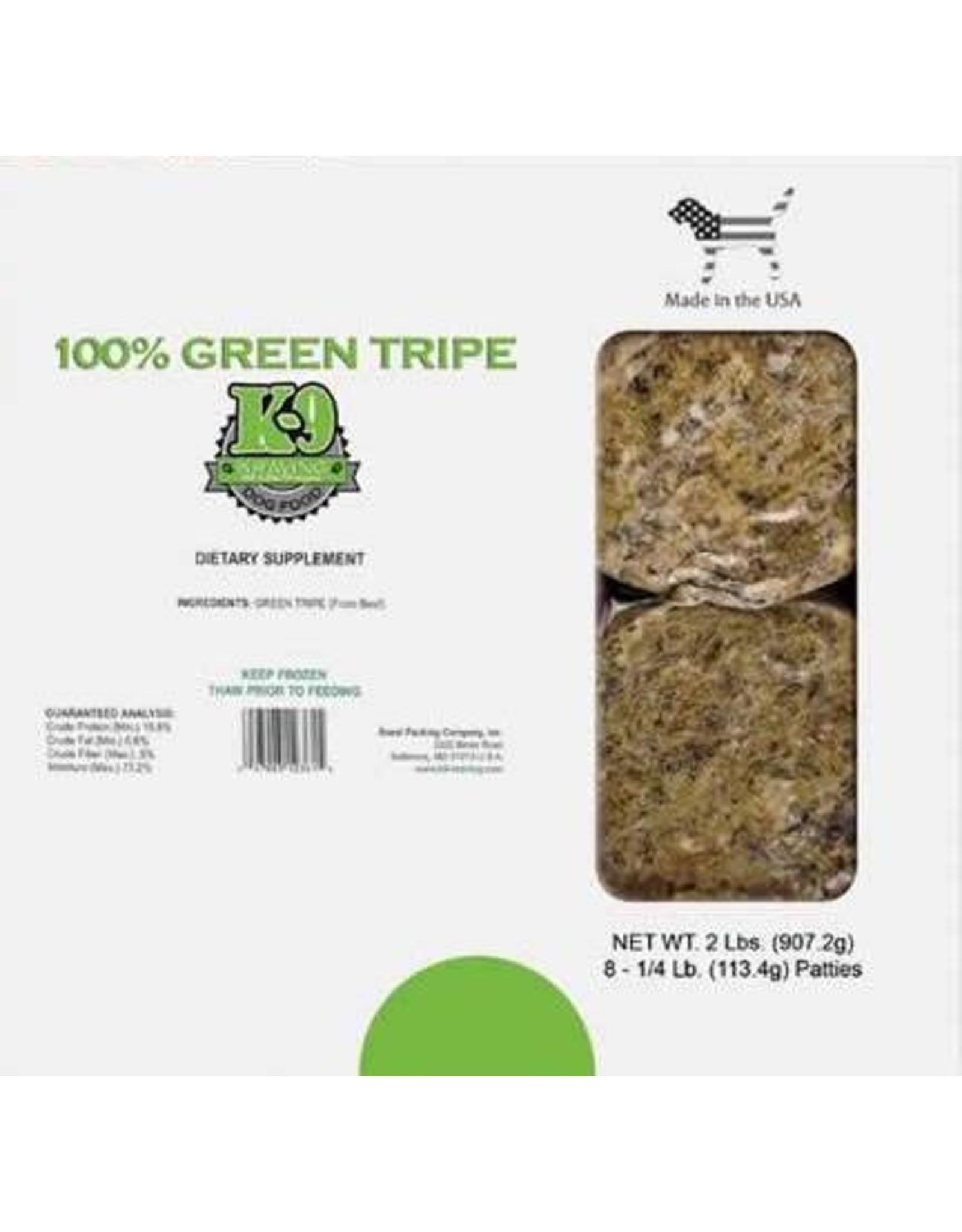 K9 Kraving K9 Kraving Green Beef Tripe