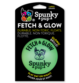 Spunky Pup Spunky Pup Fetch and Glow Ball Large