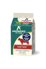 Answers Pet Food Answers Pet Food Cat Detailed Beef 1lb