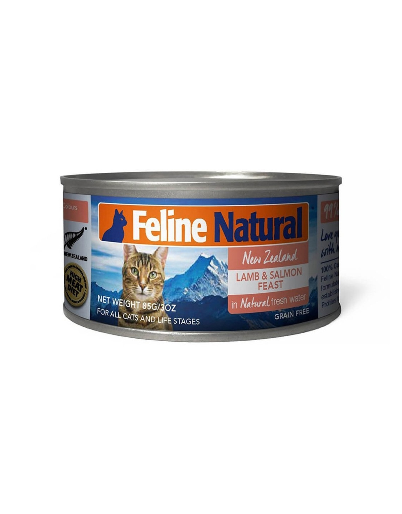 Feline Natural Feline Natural Lamb and King Salmon Feast
