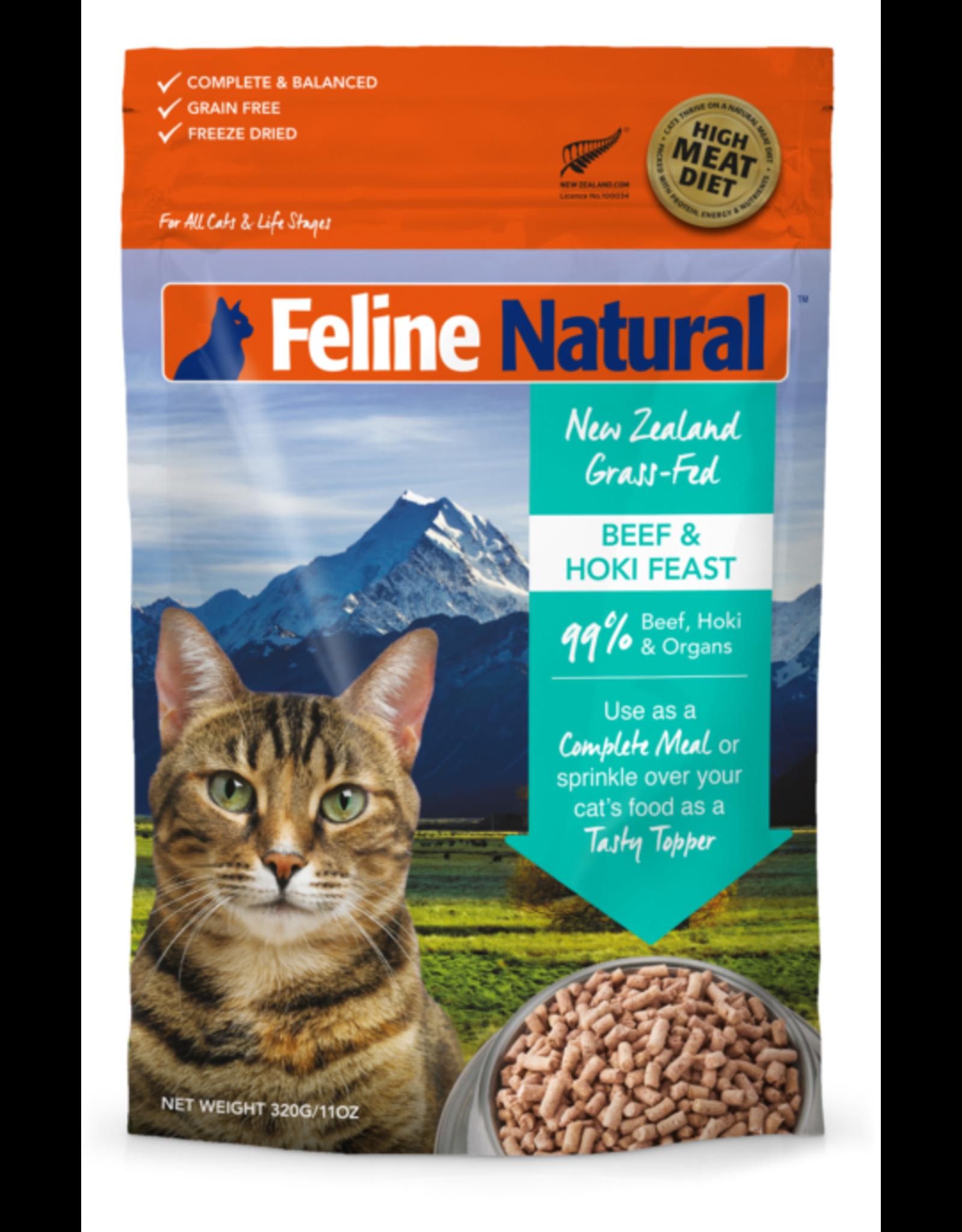Feline Natural Feline Natural Freeze Dried Beef and Hoki Feast