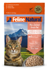 Feline Natural Feline Natural Freeze Dried Lamb and King Salmon Feast