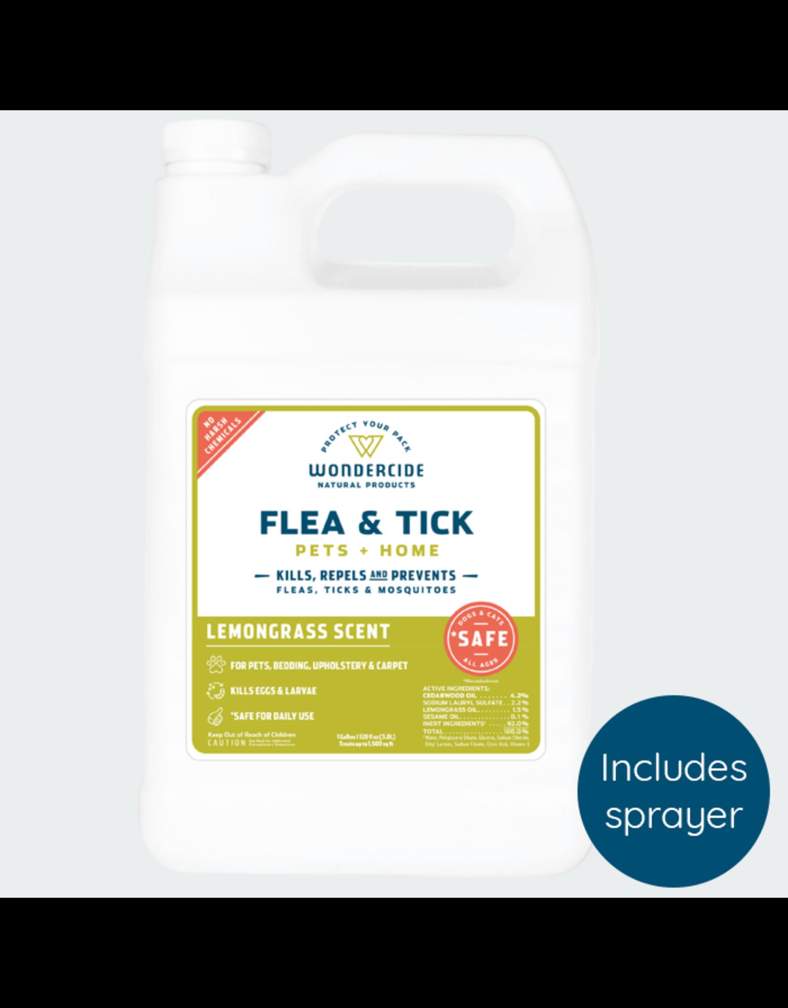 Wondercide Wondercide Flea and Tick Lemongrass 128oz