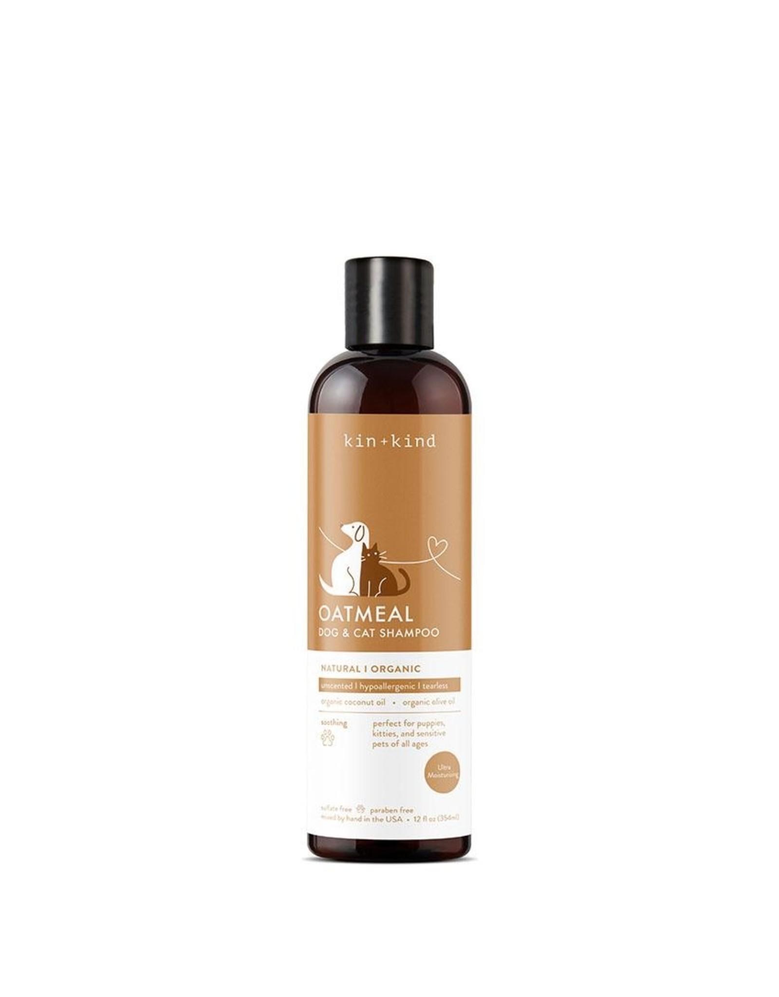 Kin and Kind Kin and Kind Sensitive Pet Oatmeal Shampoo 12oz