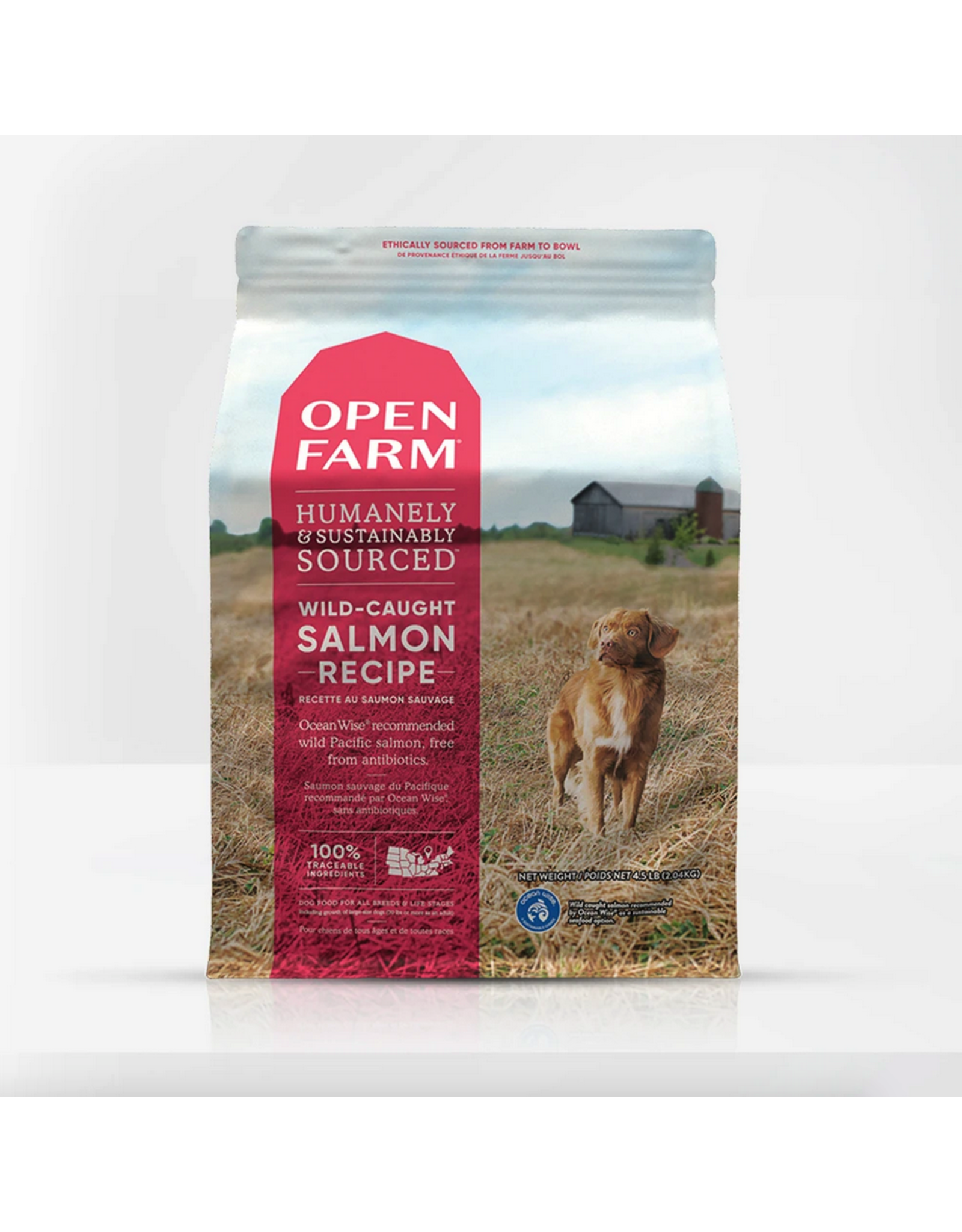 Open Farm Open Farm Dog Salmon Recipe