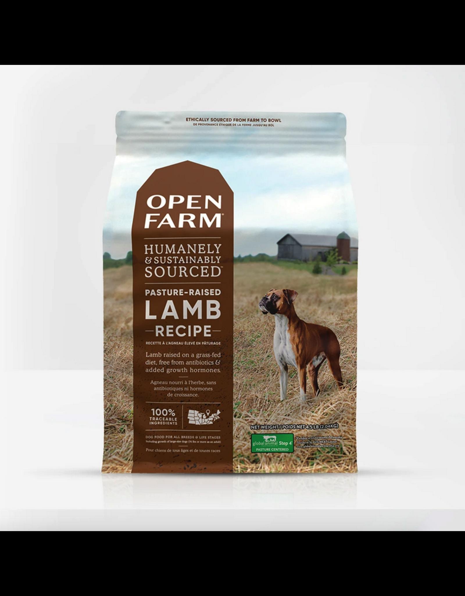 Open Farm Open Farm Dog Lamb Recipe