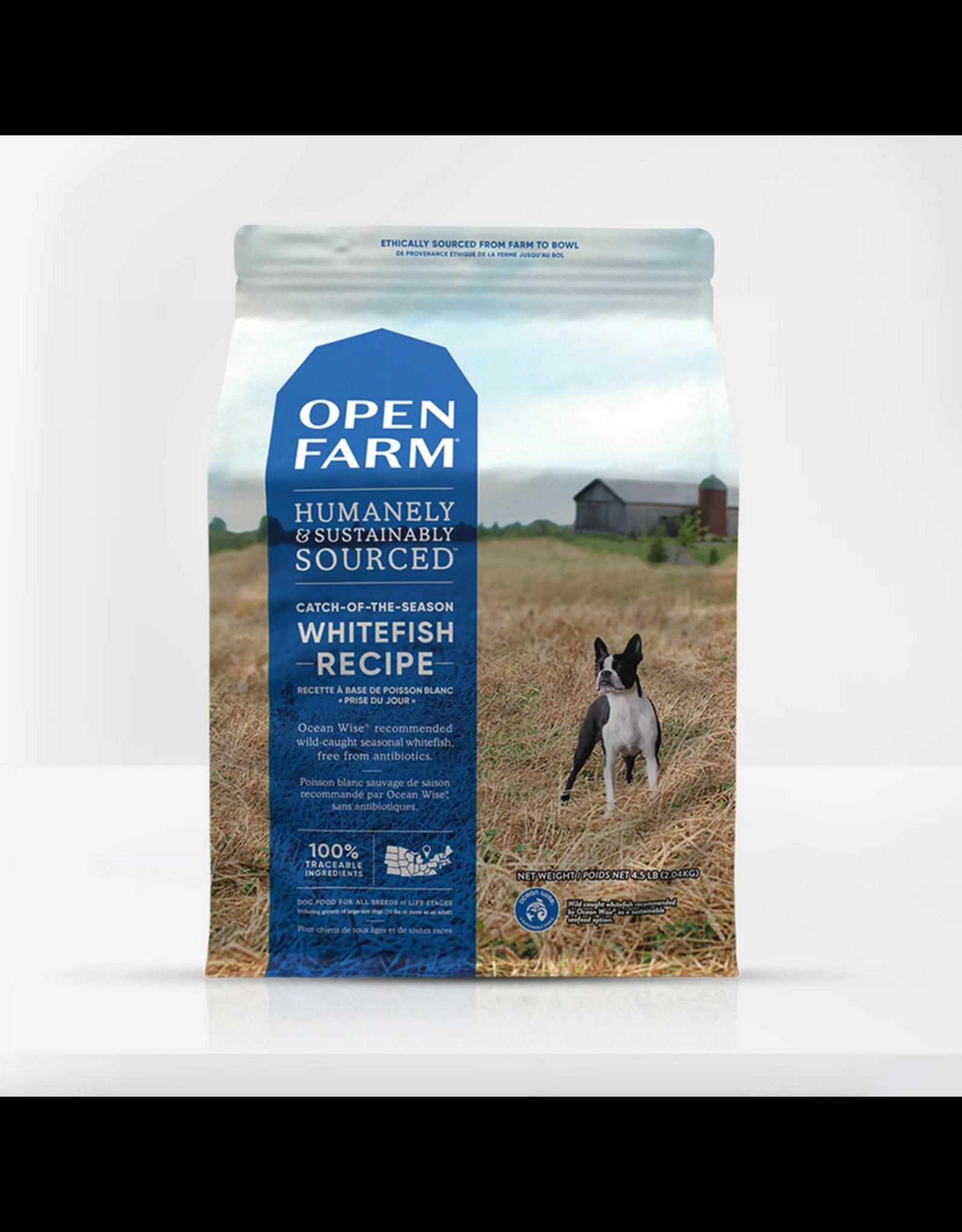 Open Farm Open Farm Dog Whitefish Recipe
