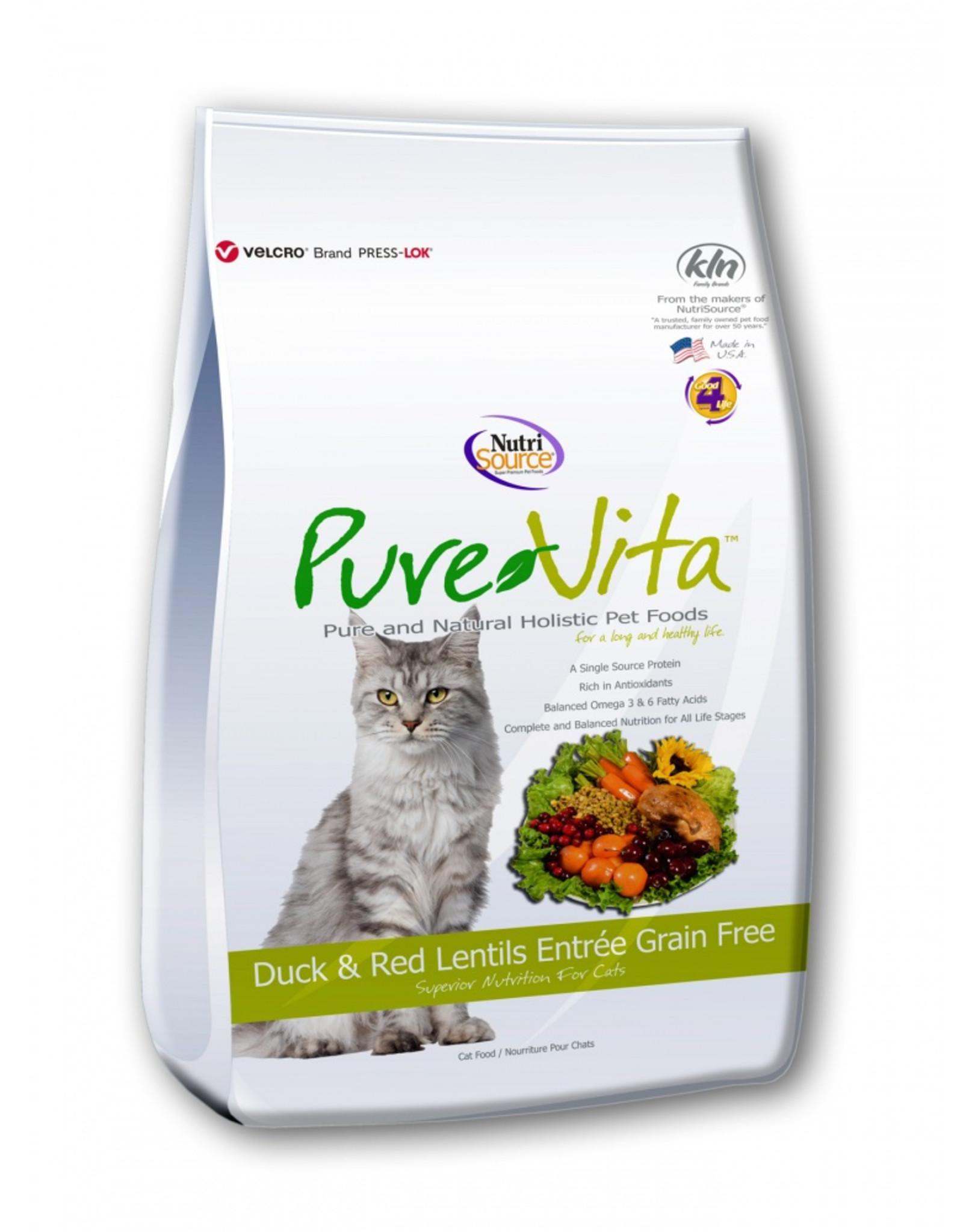 Pure Vita Pure Vita Cat Duck and Red Lentils Entree