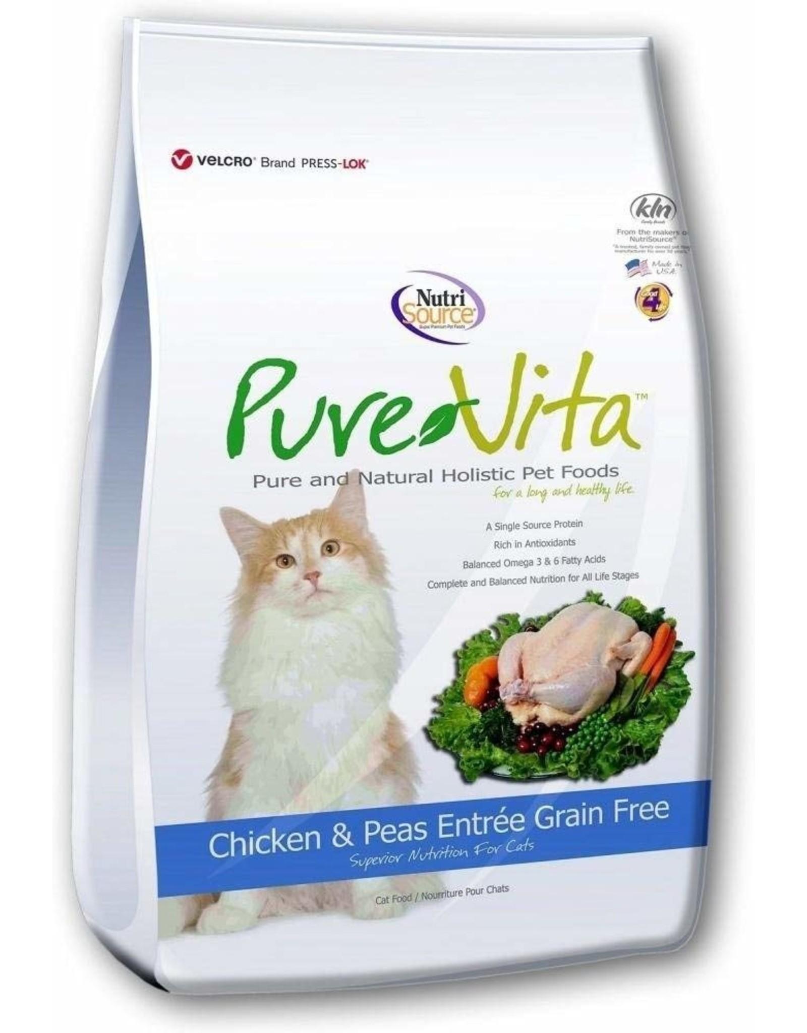 Pure Vita Pure Vita Cat Chicken and Peas Entree