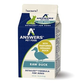 Answers Pet Food Answers Pet Food Dog Detailed Duck
