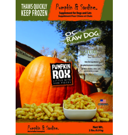 OC Raw Dog OC Raw Dog Pumpkin Sardine Rox 2lb