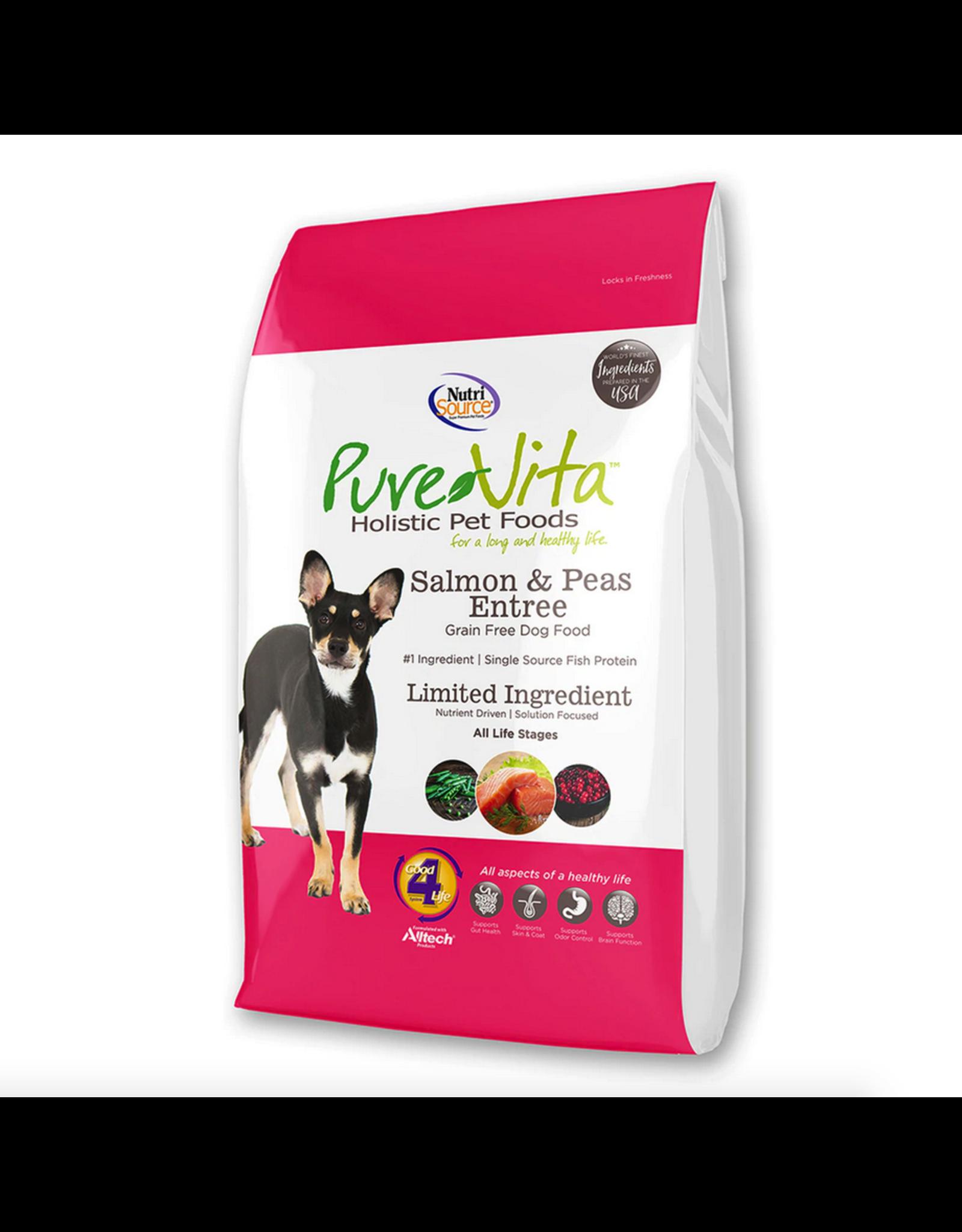 Pure Vita Pure Vita Dog Salmon and Peas Entree