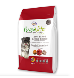 Pure Vita Pure Vita Dog Beef and Red Lentils Entree