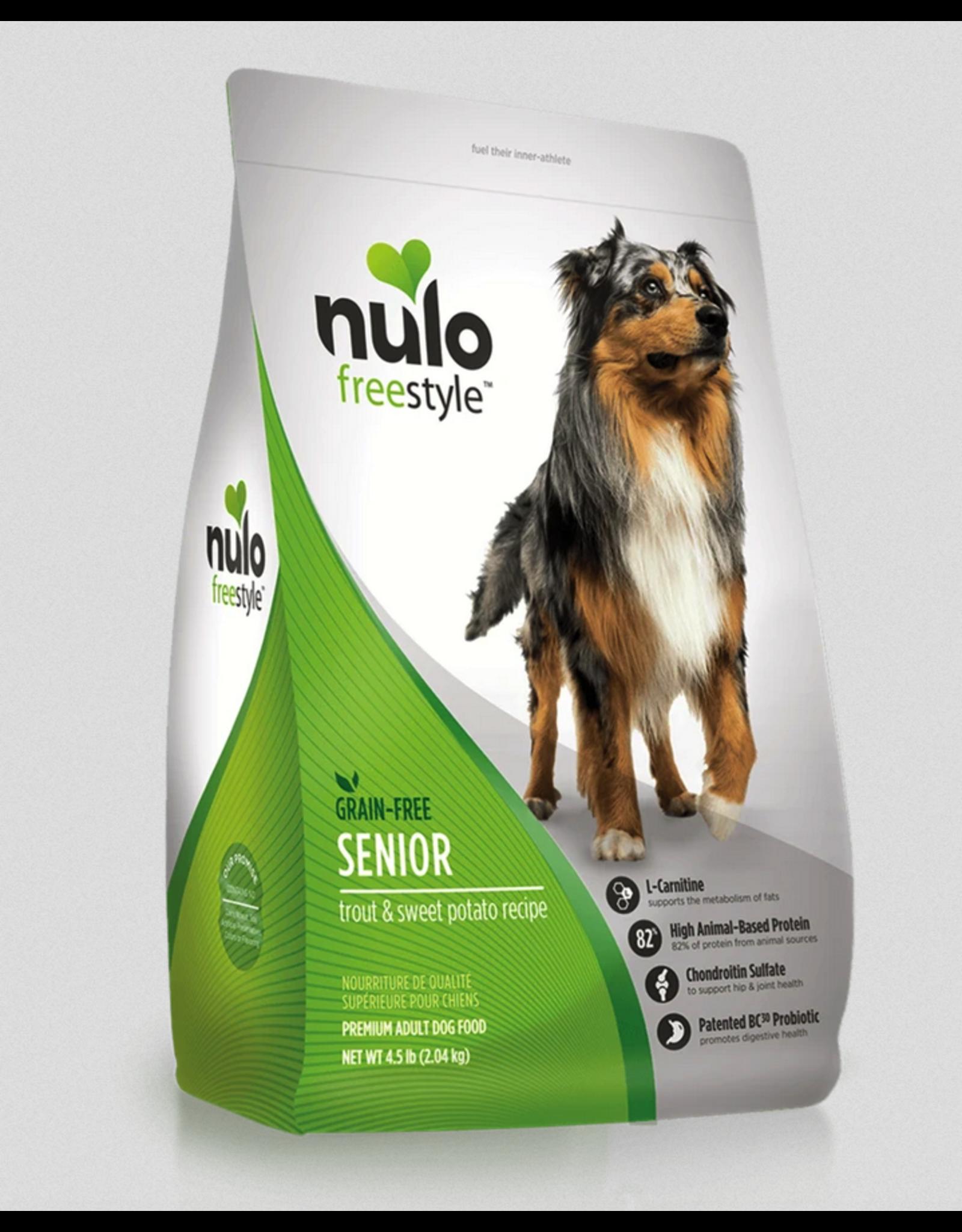 Nulo Nulo Dog Senior Trout and Sweet Potato Recipe