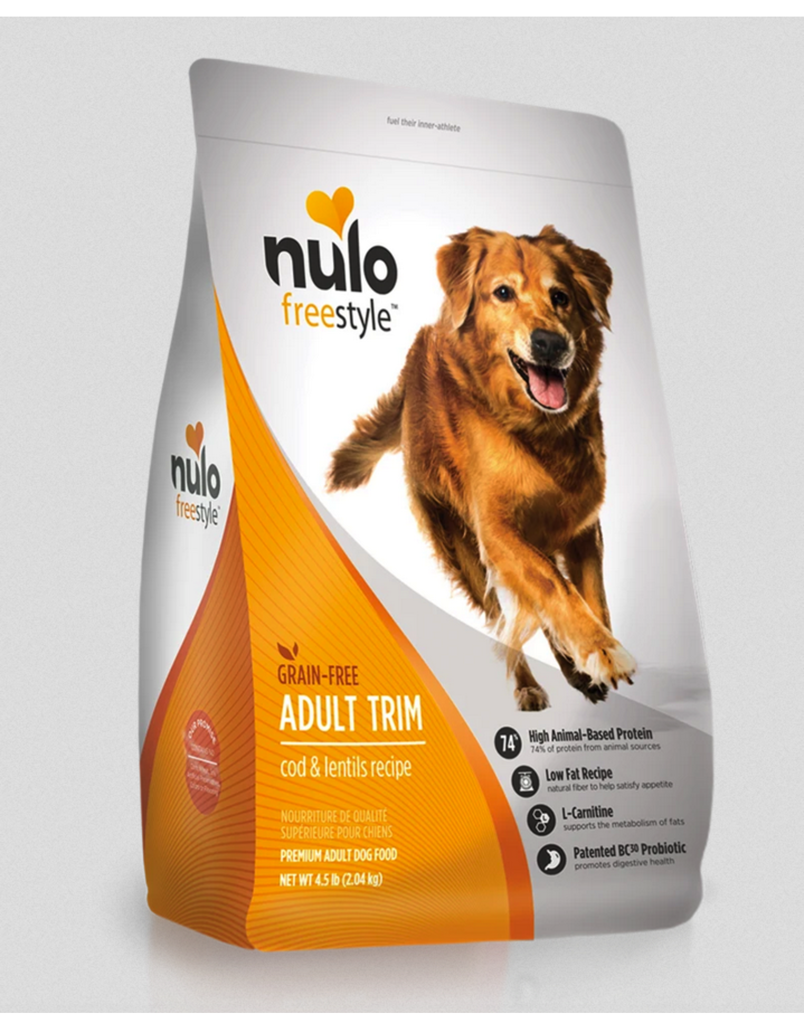 Nulo Nulo Freestyle Dog Adult Trim Cod and Lentils Recipe