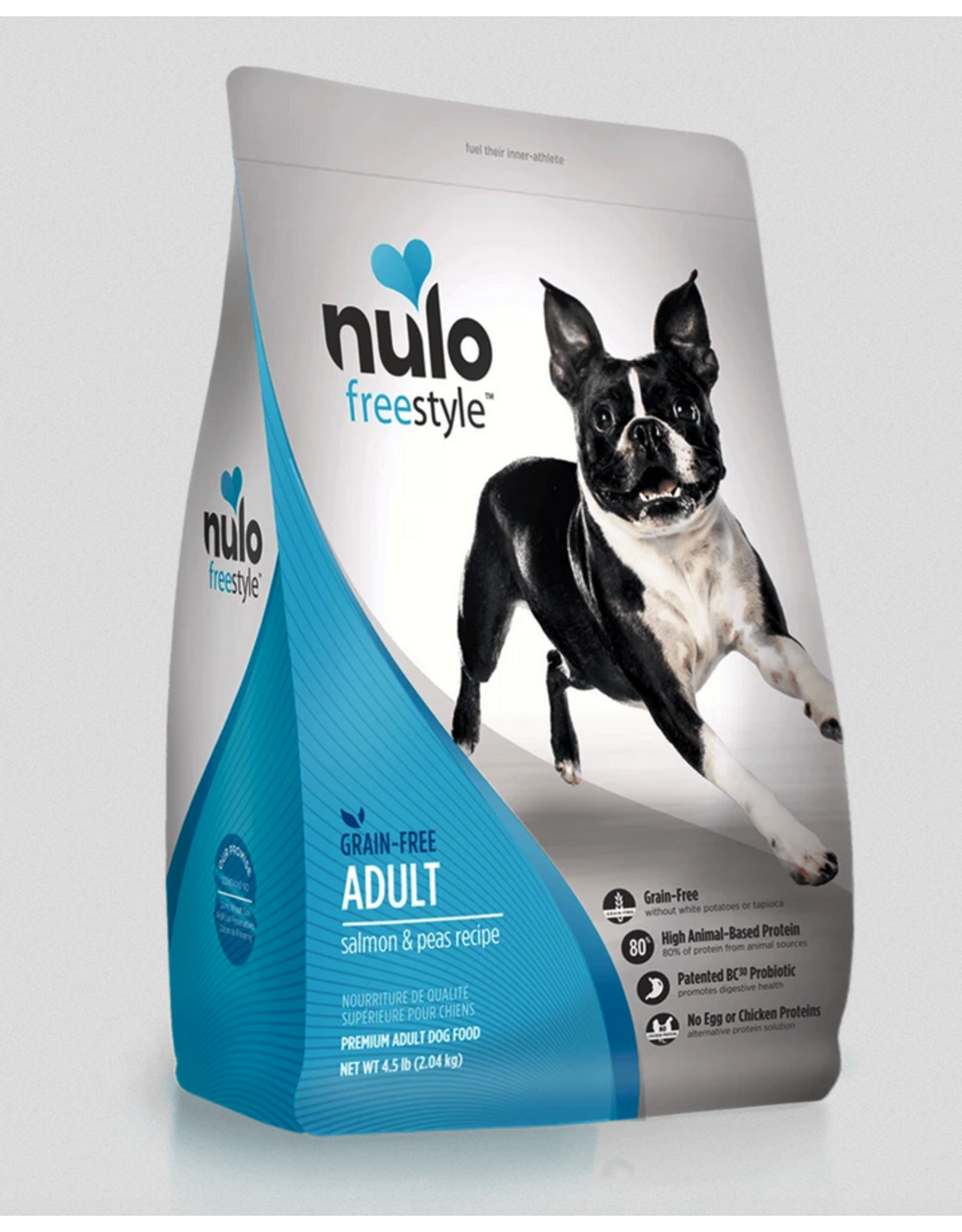 Nulo Nulo Freestyle Dog Small Breed Salmon and Red Lentils Recipe