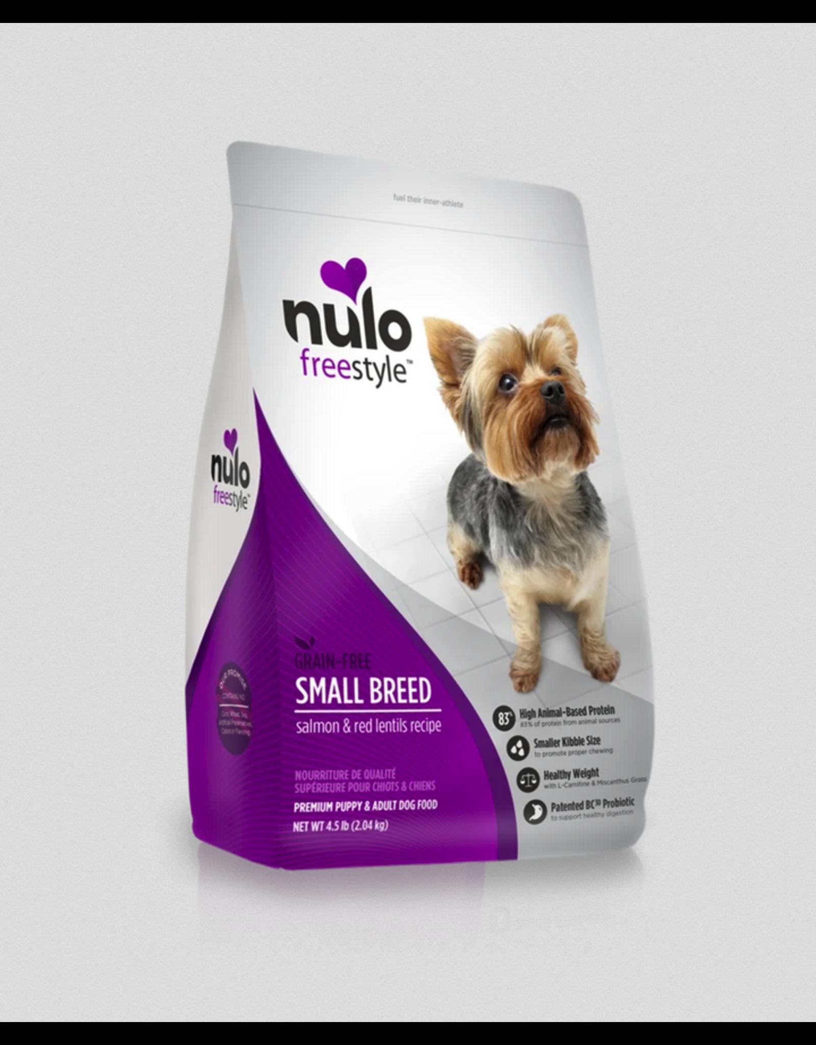 Nulo Nulo Dog Adult Salmon and Peas Recipe