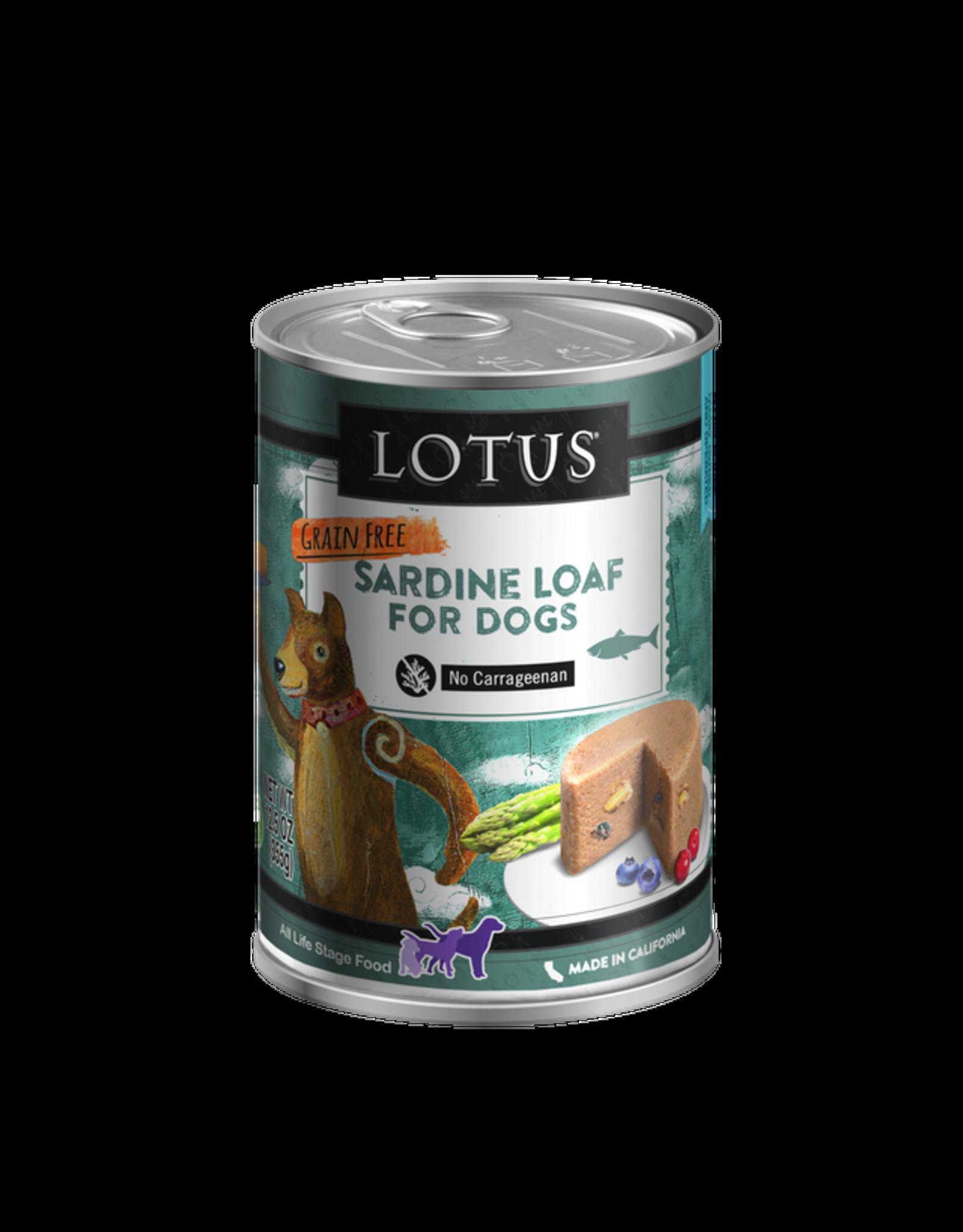 Lotus Pet Food Lotus Dog Sardine Loaf 12.5oz