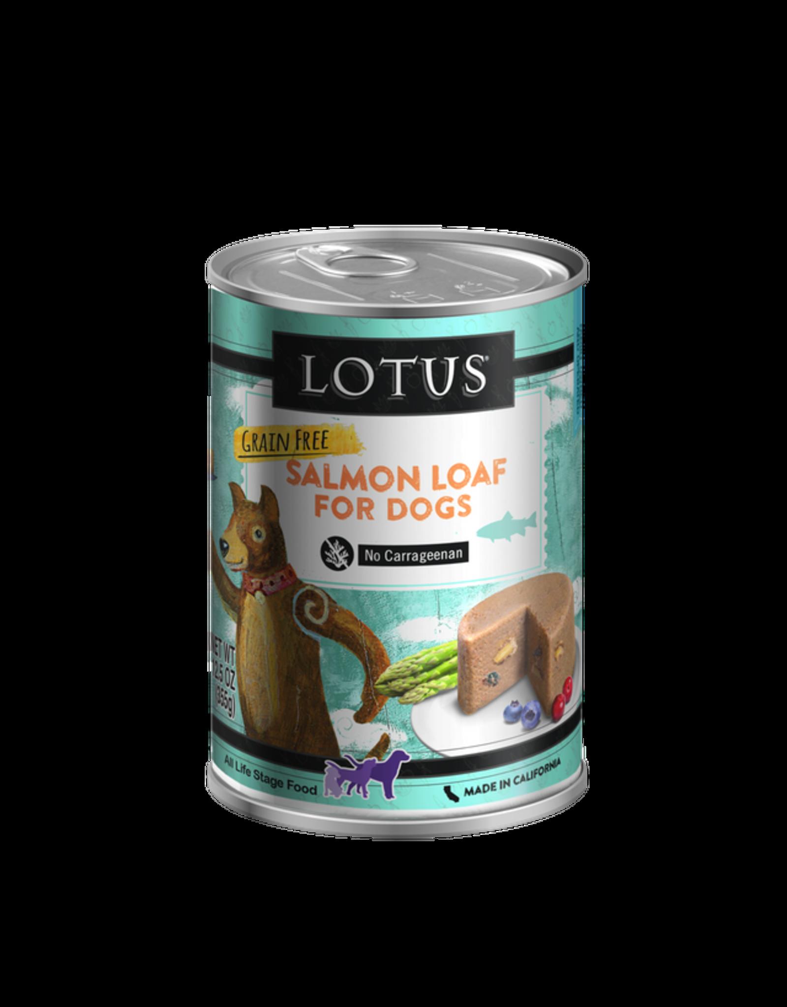 Lotus Pet Food Lotus Dog Salmon Loaf 12.5oz