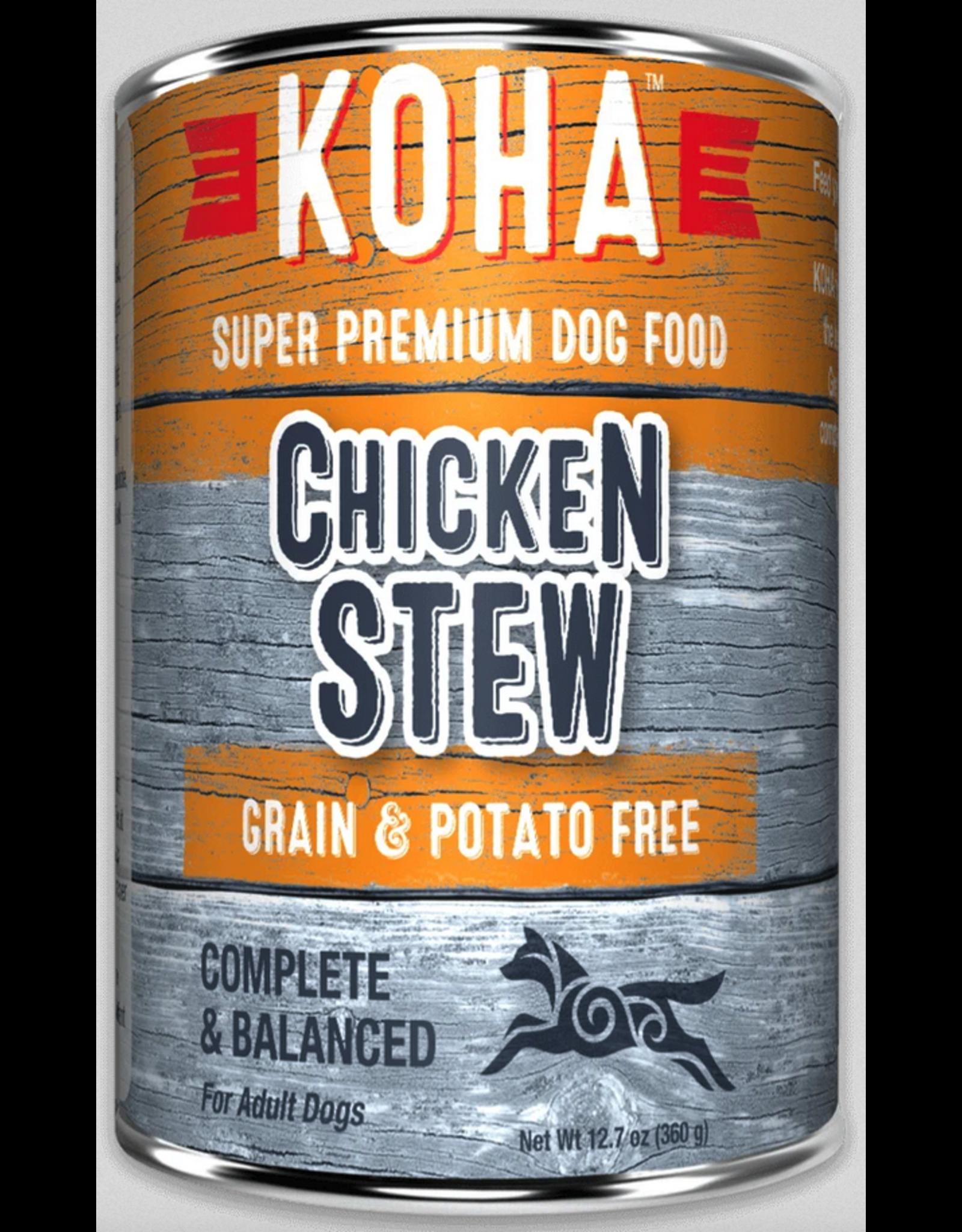 Koha Pet Koha Dog Chicken Stew 12.7oz