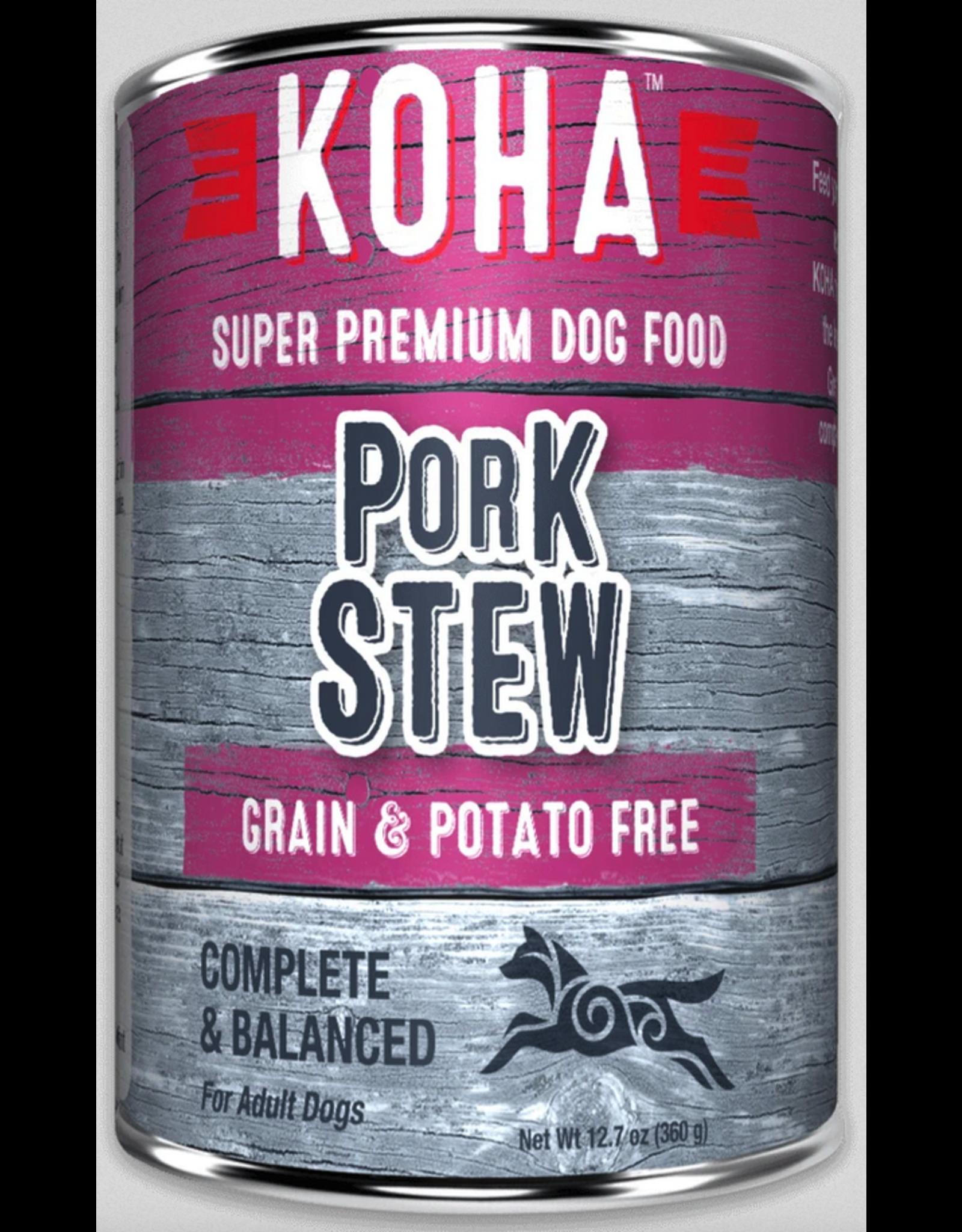 Koha Pet Koha Dog Pork Stew 12.7oz