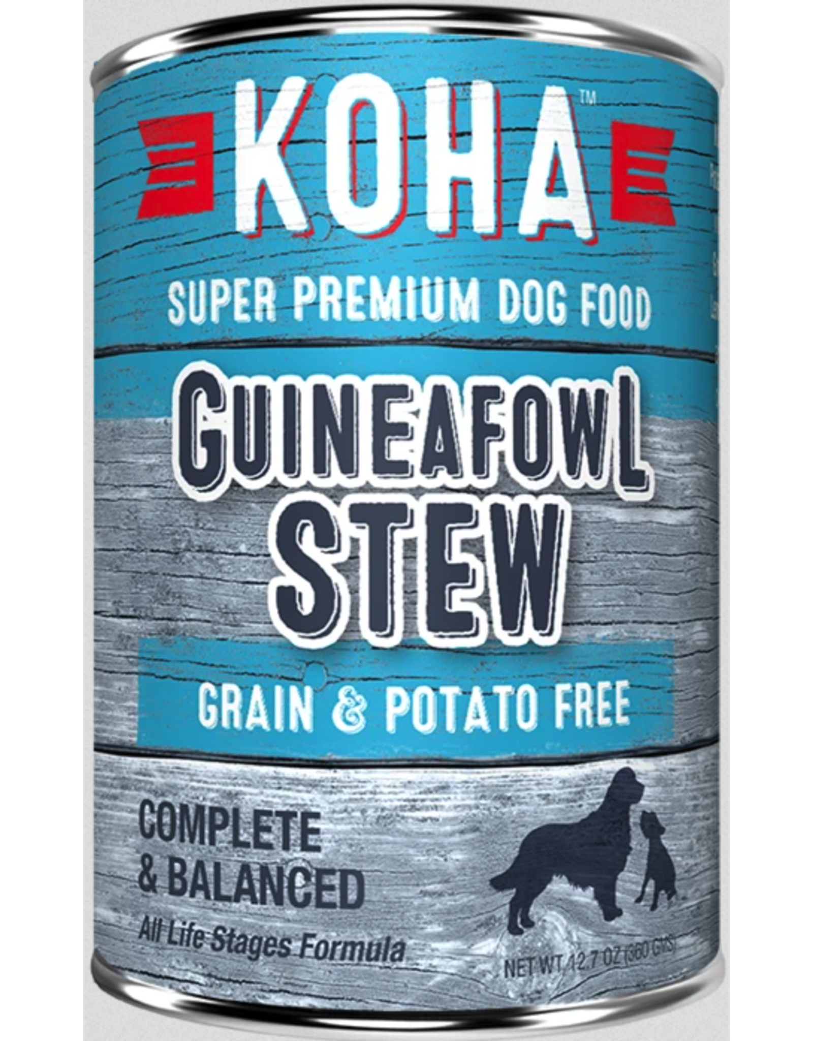 Koha Pet Koha Dog Guineafowl Stew 12.7oz
