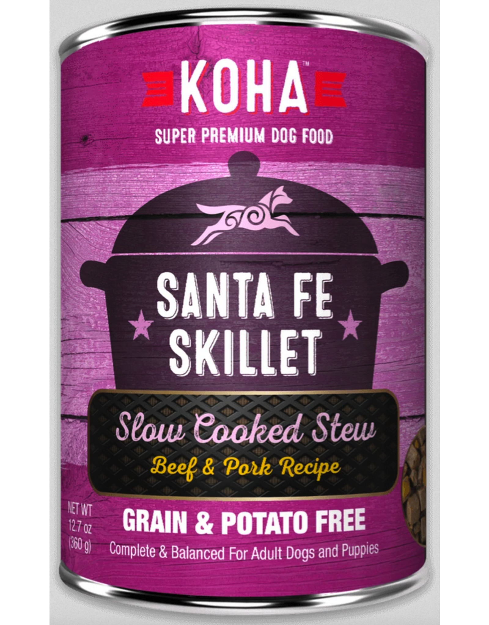 Koha Pet Koha Dog Santa Fe Skillet 12.7oz