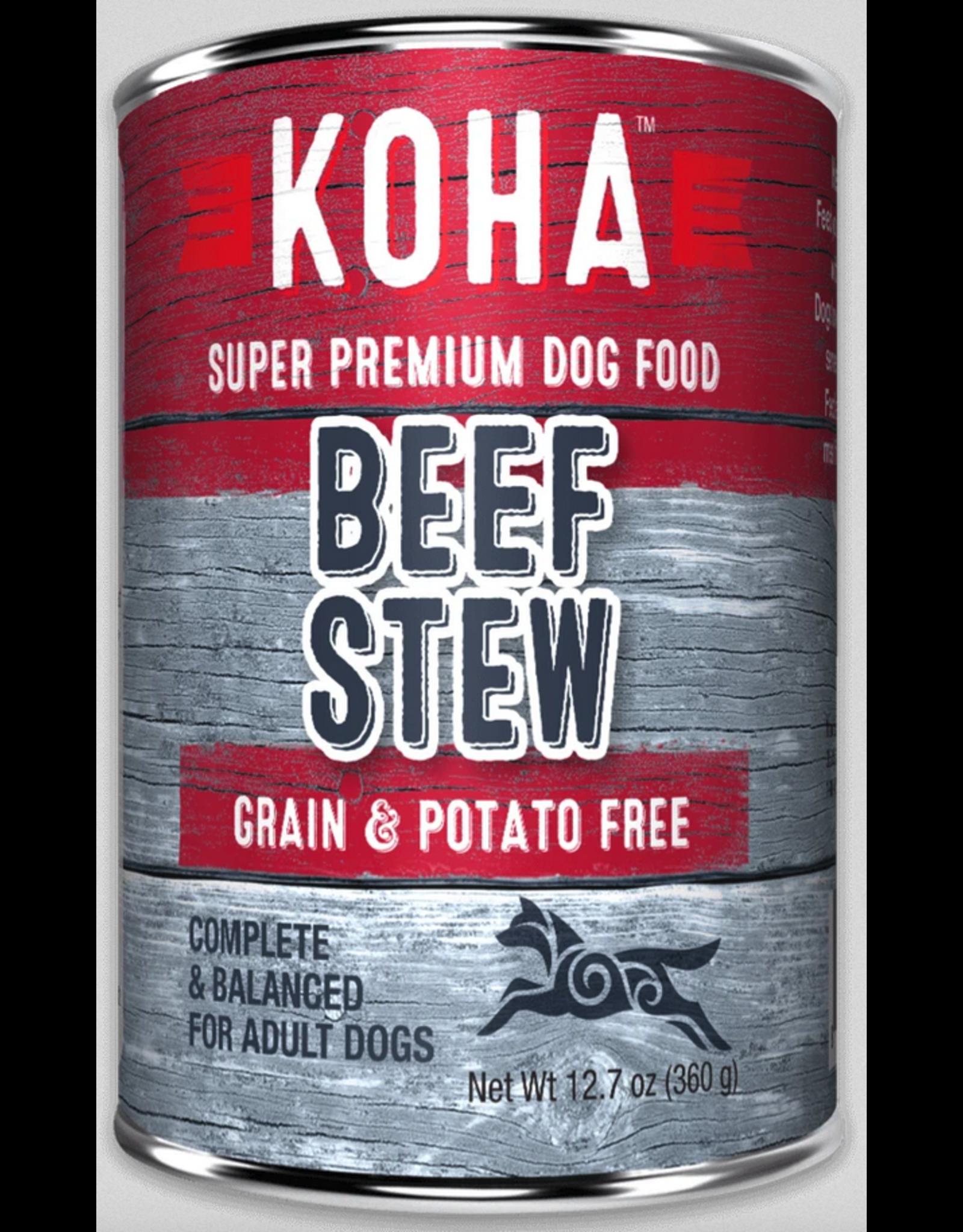 Koha Pet Koha Dog Beef Stew 12.7oz