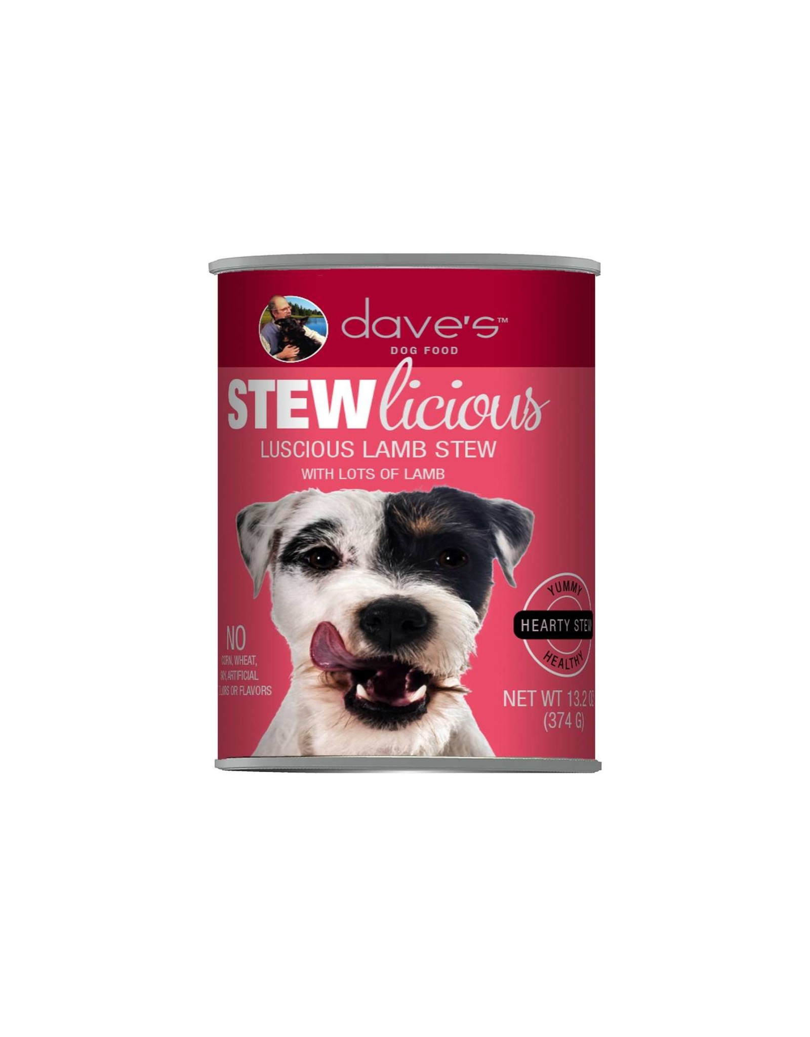 Dave's Pet Food Dave's Dog Stewlicious Luscious Lamb Stew 13oz