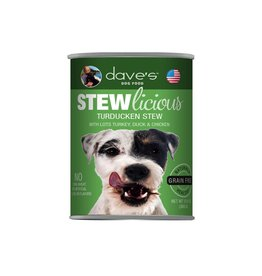 Dave's Pet Food Dave's Dog Stewlicious Turducken Stew 13oz