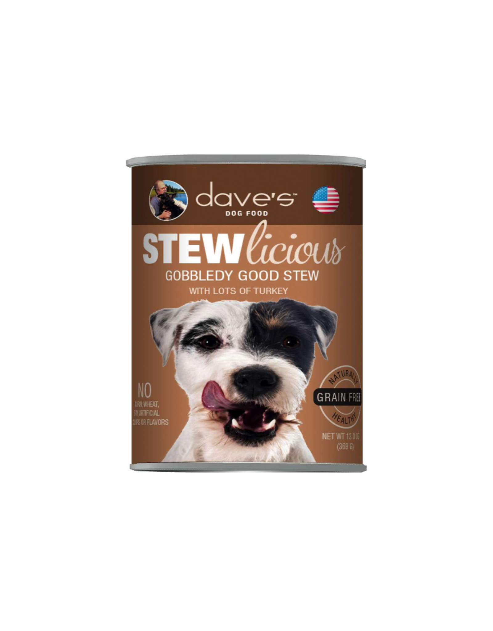 Dave's Pet Food Dave's Dog Stewlicious Gobbledy Good Stew 13oz