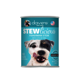 Dave's Pet Food Dave's Dog Stewlicious Fisherman Stew 13oz