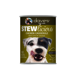 Dave's Pet Food Dave's Dog Stewlicious Chicken Casserole 13.2oz