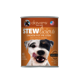 Dave's Pet Food Dave's Dog Stewlicious Chicken Pot Pie 13oz
