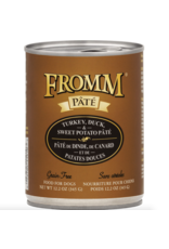 Fromm Family Foods Fromm Dog Turkey Duck and Sweet Potato Pate 12.2