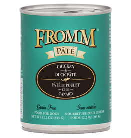 Fromm Family Foods Fromm Dog Chicken and Duck Pate 12.2oz