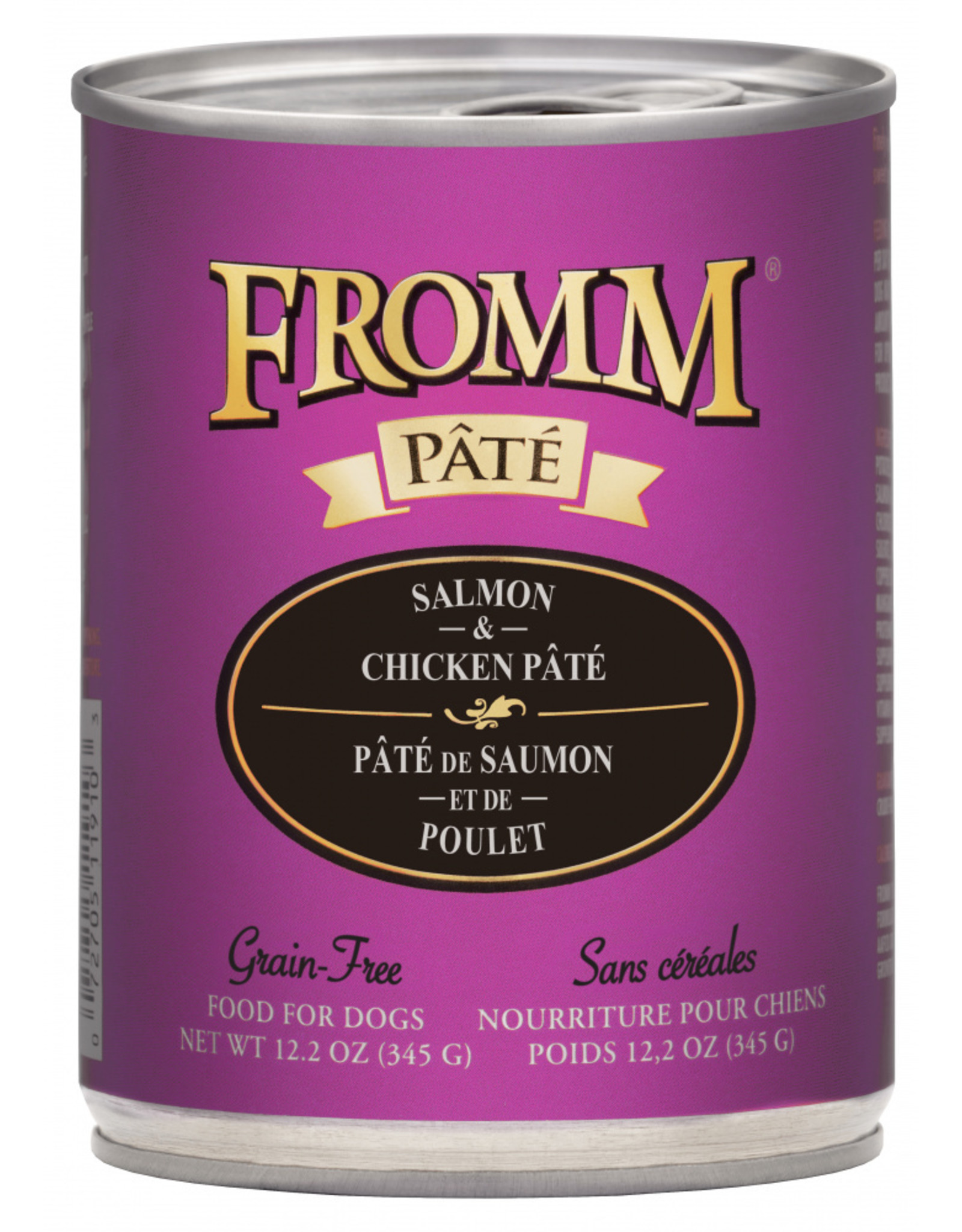 Fromm Family Foods Fromm Dog Salmon and Chicken Pate 12.2oz