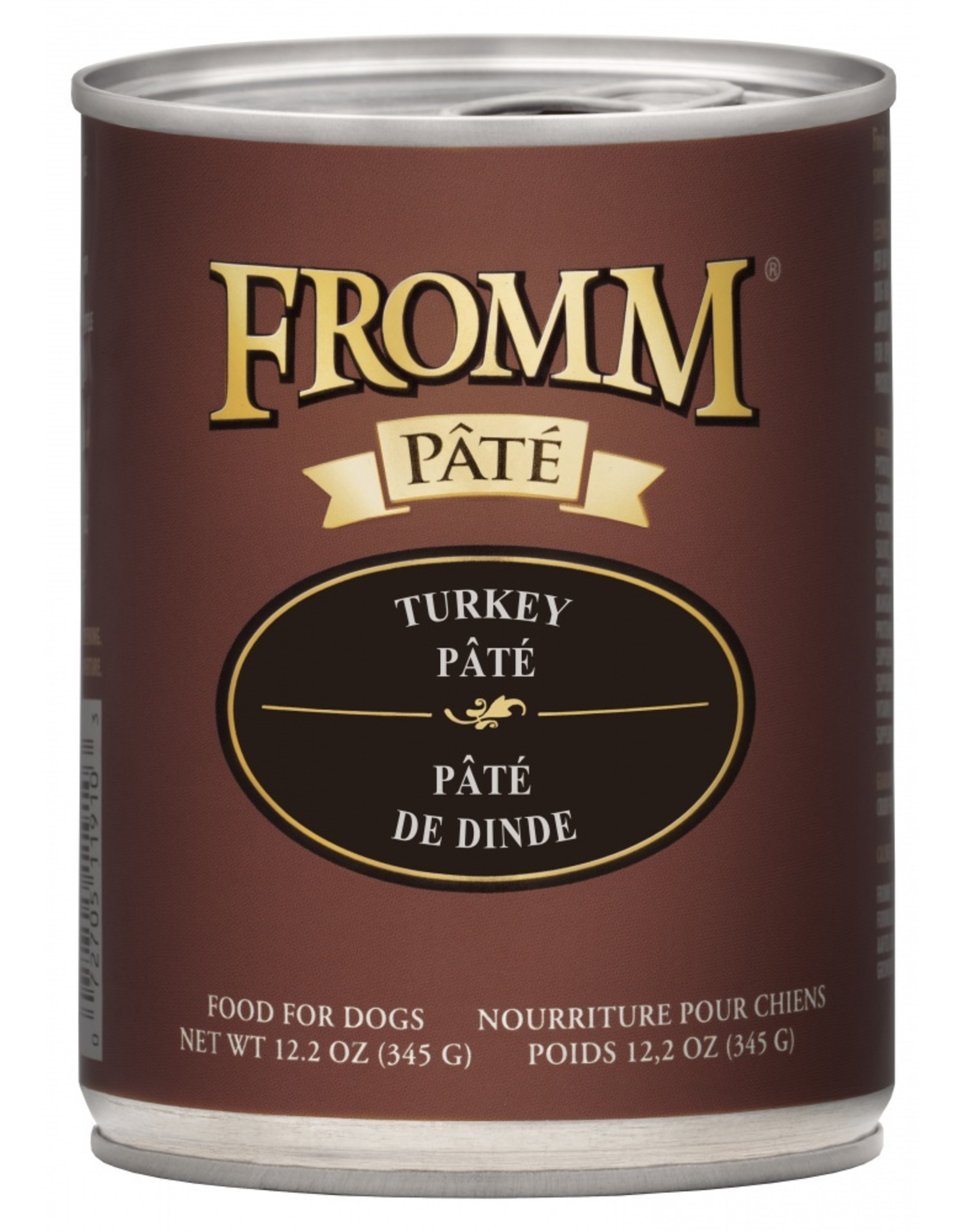 Fromm Family Foods Fromm Dog Turkey Pate 12.2oz