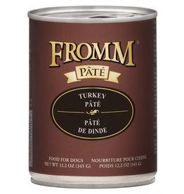 Moderna Fromm Dog Turkey Pate 12.2oz